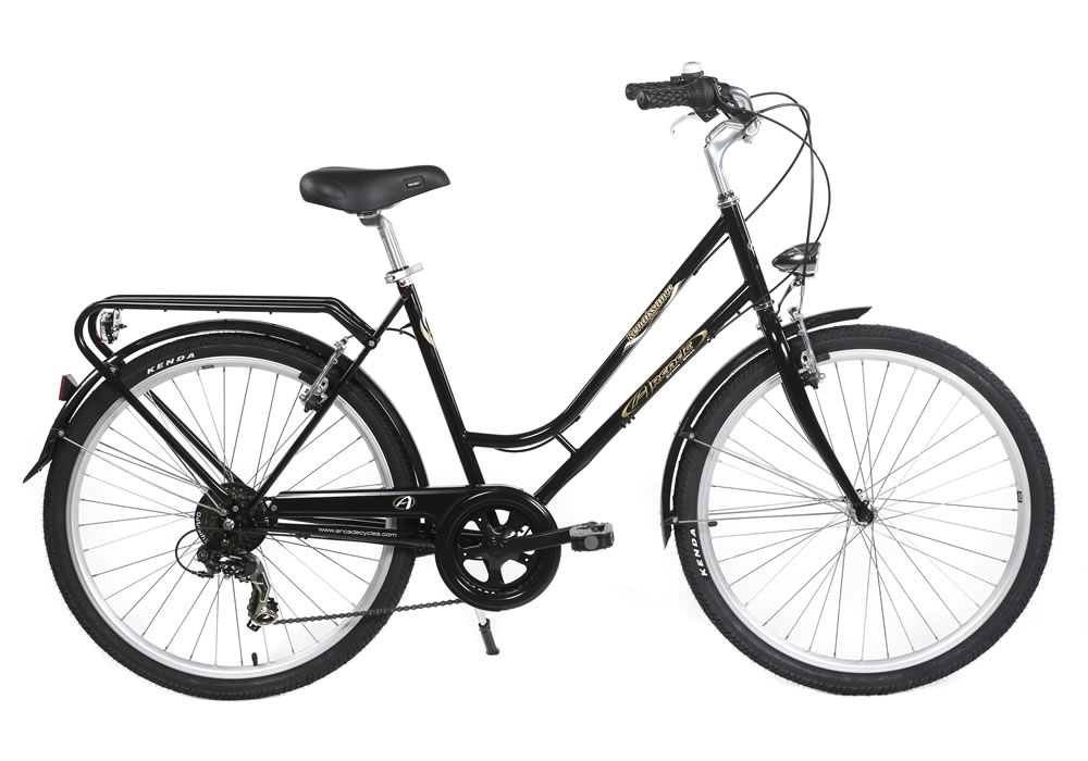 "CyclAtlantic - Rent a 26"" Classic Bike with 6 gears"