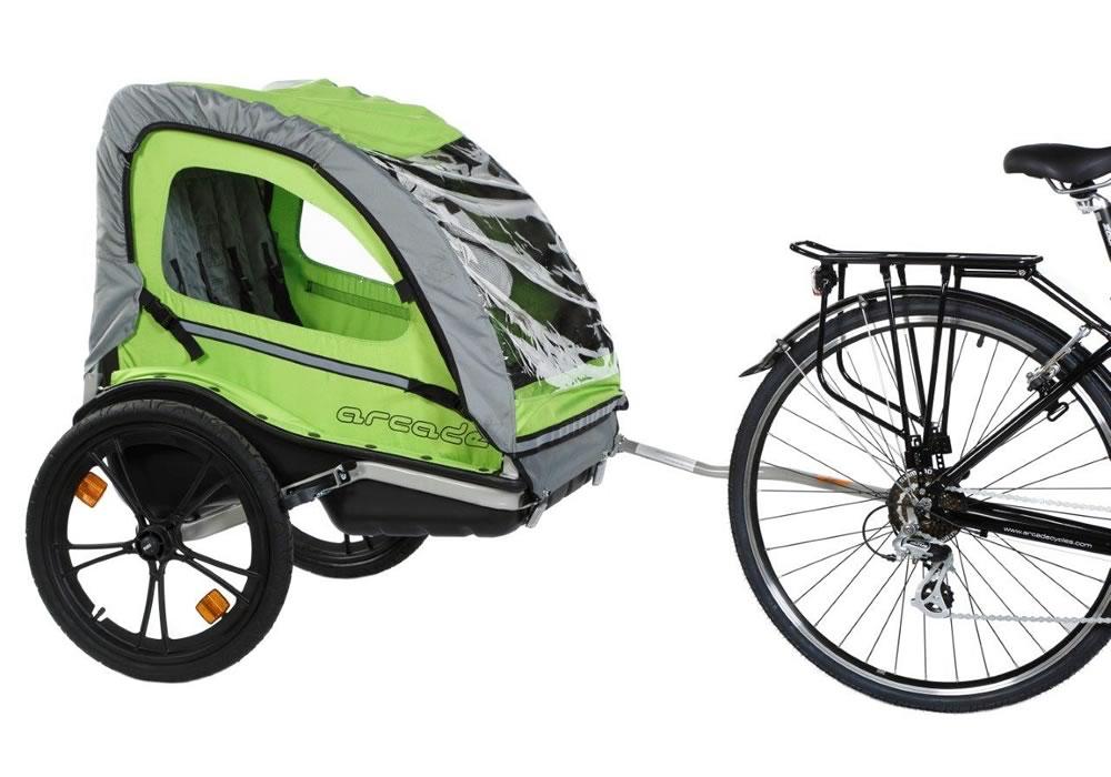 Cycl'atlantic - Location de remorque enfants pour vélo