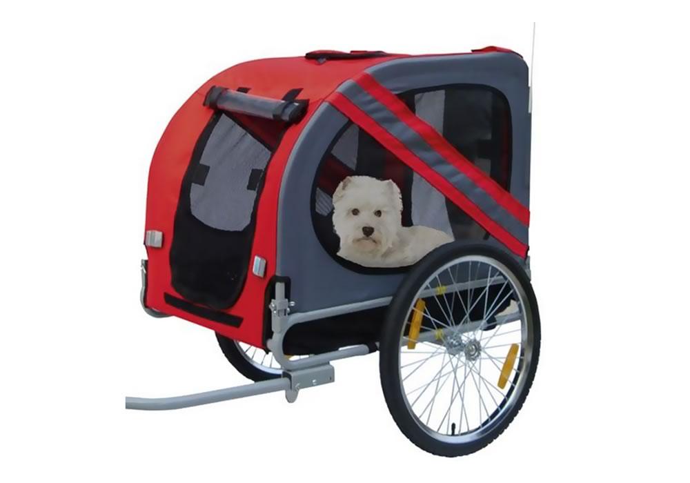 Cycl'atlantic - Location de remorque chien pour vélo